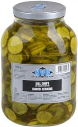 Dill chips 2650 ml